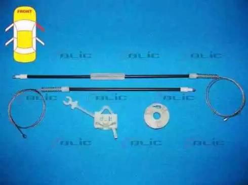 BLIC 6205-07-033802P - Kit de réparation, lève-vitre www.widencarpieces.com