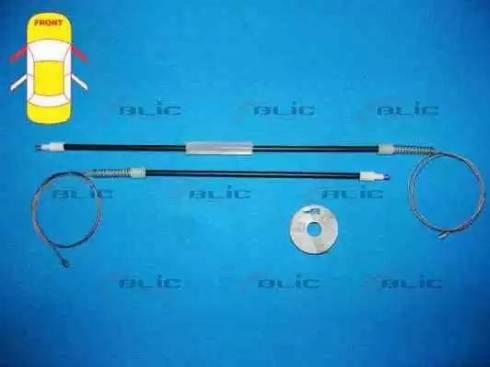 BLIC 6205-07-033812P - Kit de réparation, lève-vitre www.widencarpieces.com