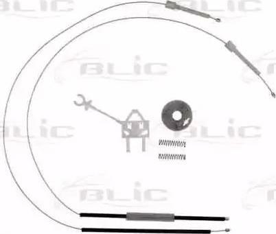 BLIC 6205-07-029801P - Kit de réparation, lève-vitre www.widencarpieces.com