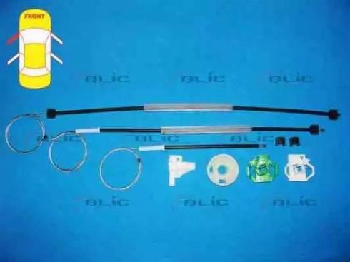 BLIC 6205-10-001801P - Kit de réparation, lève-vitre www.widencarpieces.com