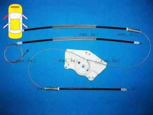 BLIC 6205-10-010807P - Kit de réparation, lève-vitre www.widencarpieces.com