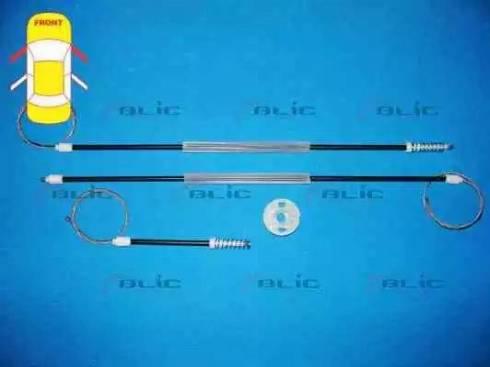 BLIC 6205-10-012812P - Kit de réparation, lève-vitre www.widencarpieces.com