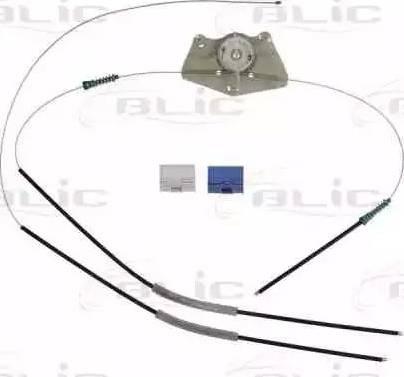 BLIC 6205-10-017802P - Kit de réparation, lève-vitre www.widencarpieces.com