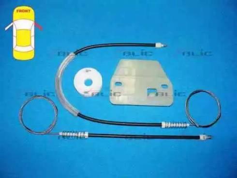 BLIC 6205-30-003802P - Kit de réparation, lève-vitre www.widencarpieces.com