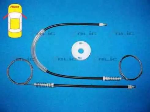 BLIC 6205-30-003812P - Kit de réparation, lève-vitre www.widencarpieces.com