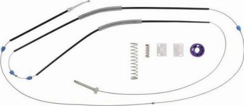 BLIC 6205-25-034811P - Kit de réparation, lève-vitre www.widencarpieces.com