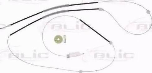 BLIC 6205-25-038807P - Kit de réparation, lève-vitre www.widencarpieces.com