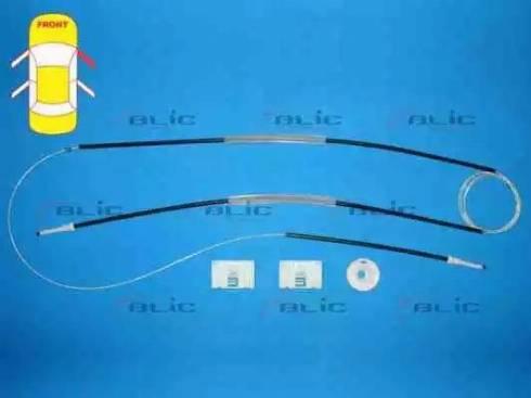 BLIC 6205-25-025802P - Kit de réparation, lève-vitre www.widencarpieces.com