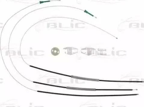 BLIC 6205-21-019800P - Kit de réparation, lève-vitre www.widencarpieces.com