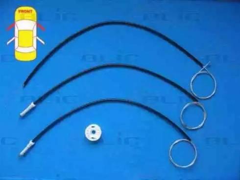 BLIC 6205-21-019812P - Kit de réparation, lève-vitre www.widencarpieces.com
