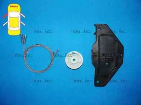 BLIC 6205-21-035801P - Kit de réparation, lève-vitre www.widencarpieces.com