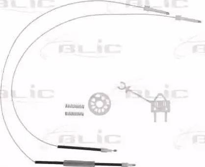 BLIC 6205-22-009801P - Kit de réparation, lève-vitre www.widencarpieces.com