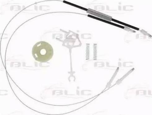 BLIC 6205-22-009802P - Kit de réparation, lève-vitre www.widencarpieces.com