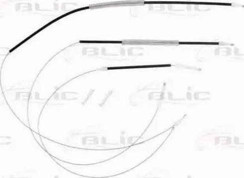 BLIC 6205-22-013812P - Kit de réparation, lève-vitre www.widencarpieces.com