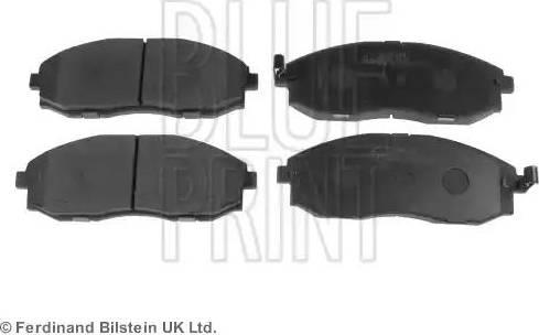 Blue Print ADG04240 - Kit de plaquettes de frein, frein à disque www.widencarpieces.com