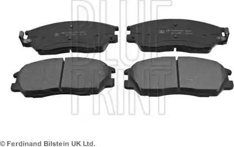 Blue Print ADG04272 - Kit de plaquettes de frein, frein à disque www.widencarpieces.com