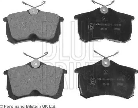 Blue Print ADH24257 - Kit de plaquettes de frein, frein à disque www.widencarpieces.com