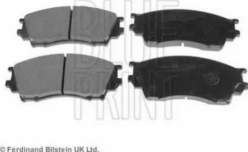 Blue Print ADM54253 - Kit de plaquettes de frein, frein à disque www.widencarpieces.com