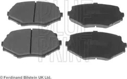 Blue Print ADM54252 - Kit de plaquettes de frein, frein à disque www.widencarpieces.com