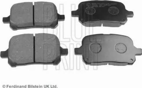 Blue Print ADT34290 - Kit de plaquettes de frein, frein à disque www.widencarpieces.com