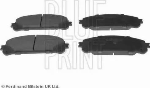 Blue Print ADT342190 - Kit de plaquettes de frein, frein à disque www.widencarpieces.com