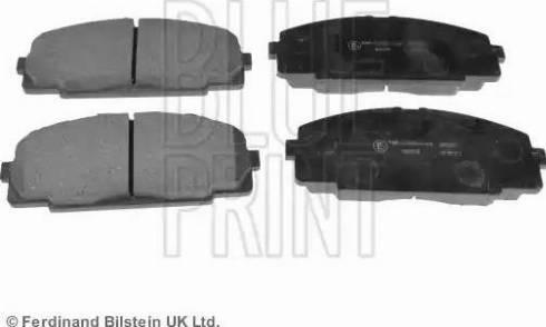 Blue Print ADT342109 - Kit de plaquettes de frein, frein à disque www.widencarpieces.com