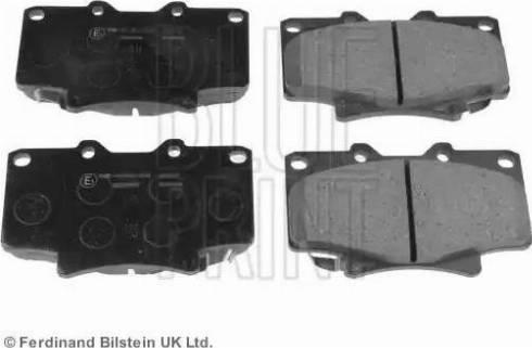 Blue Print ADT342124 - Kit de plaquettes de frein, frein à disque www.widencarpieces.com