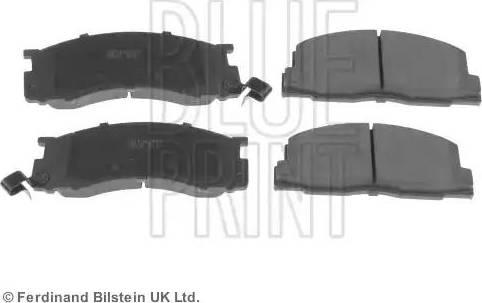 Blue Print ADT342127 - Kit de plaquettes de frein, frein à disque www.widencarpieces.com