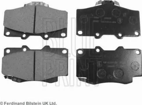 Blue Print ADT34281 - Kit de plaquettes de frein, frein à disque www.widencarpieces.com