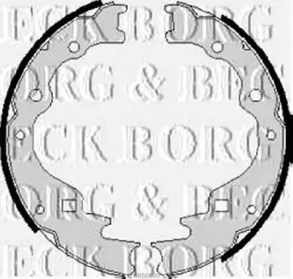 Borg & Beck BBS6009 - Jeu de freins, freins à tambour www.widencarpieces.com