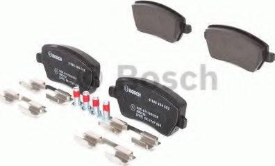 BOSCH 0 986 494 592 - Kit de plaquettes de frein, frein à disque www.widencarpieces.com