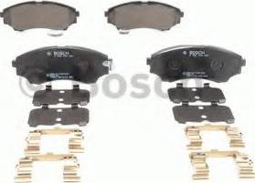 BOSCH 0 986 494 587 - Kit de plaquettes de frein, frein à disque www.widencarpieces.com