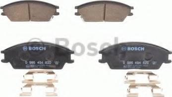BOSCH 0 986 494 620 - Kit de plaquettes de frein, frein à disque www.widencarpieces.com