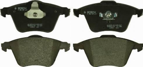 BOSCH 0 986 494 077 - Kit de plaquettes de frein, frein à disque www.widencarpieces.com