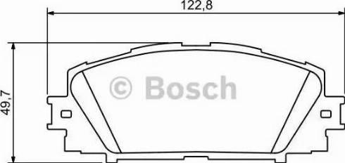 BOSCH 0 986 494 198 - Kit de plaquettes de frein, frein à disque www.widencarpieces.com