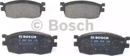 BOSCH 0 986 494 139 - Kit de plaquettes de frein, frein à disque www.widencarpieces.com