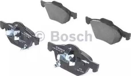 BOSCH 0 986 494 135 - Kit de plaquettes de frein, frein à disque www.widencarpieces.com