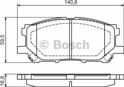 BOSCH 0 986 494 218 - Kit de plaquettes de frein, frein à disque www.widencarpieces.com