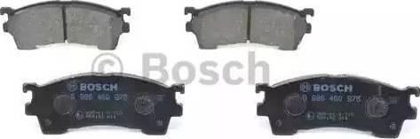 BOSCH 0 986 460 975 - Kit de plaquettes de frein, frein à disque www.widencarpieces.com