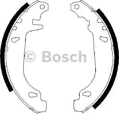 BOSCH 0 986 487 272 - Jeu de freins, freins à tambour www.widencarpieces.com