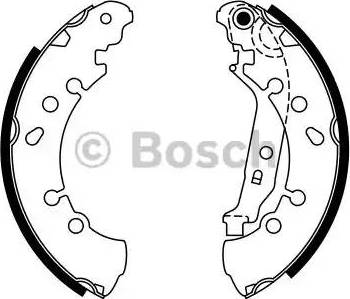 BOSCH 0 986 487 759 - Jeu de freins, freins à tambour www.widencarpieces.com