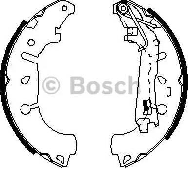 BOSCH 0 986 487 703 - Jeu de freins, freins à tambour www.widencarpieces.com