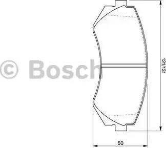 BOSCH 0 986 424 489 - Kit de plaquettes de frein, frein à disque www.widencarpieces.com