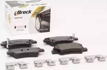 Breck 24934 00 702 00 - Kit de plaquettes de frein, frein à disque www.widencarpieces.com