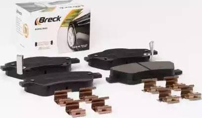 Breck 24122 00 701 10 - Kit de plaquettes de frein, frein à disque www.widencarpieces.com