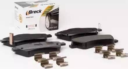 Breck 24204 00 701 00 - Kit de plaquettes de frein, frein à disque www.widencarpieces.com