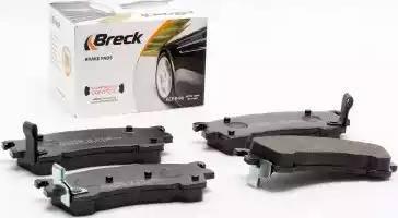 Breck 21754 00 701 10 - Kit de plaquettes de frein, frein à disque www.widencarpieces.com