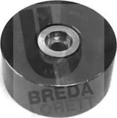 Breda Lorett POA3311 - Poulie renvoi/transmission, courroie trapézoïdale à nervures www.widencarpieces.com