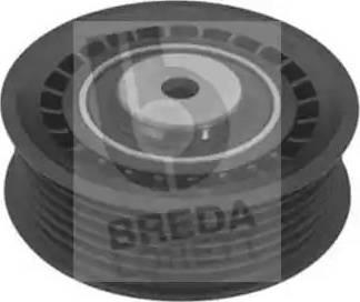 Breda Lorett TOA3171 - Poulie renvoi/transmission, courroie trapézoïdale à nervures www.widencarpieces.com