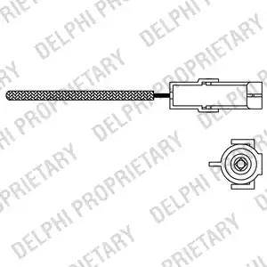 Delphi ES1096612B1 - Sonde lambda www.widencarpieces.com